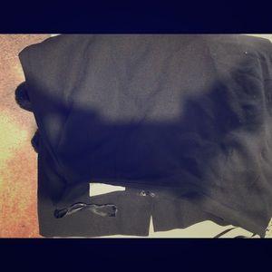 Size 8 black pencil skirt